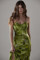 """Picture of """"Roby"""" animalier print silk dress"""