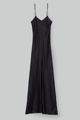 """Picture of """"Roby"""" black silk dress"""