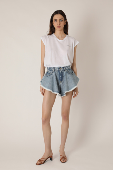 """Picture of """"Frou"""" classic blue shorts"""