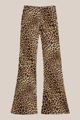 """Picture of """"Black"""" animalier pants"""