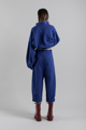 "Immagine di Pantalone  ""Androgyne""  in felpa blu"