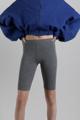 Picture of Grey melange bike shorts