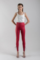 Picture of Imitation leather red leggings