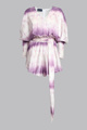 Immagine di Jumpsuit corta in velluto tie-dye